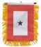 """Blue Star Service Banners (4""""x5"""")"""
