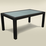Source Outdoor Zen Large Dining Table