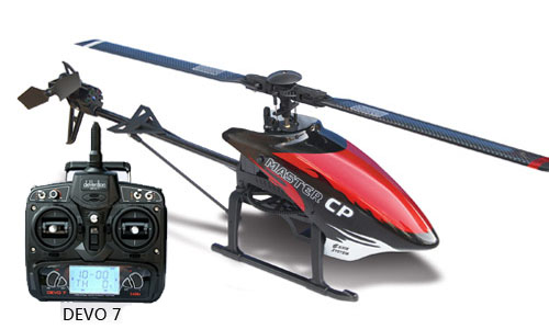 Walkera Master CP 3D 6-Axis RC helicopter W/DEVO7