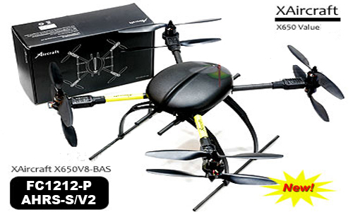 Latest Version XAircraft X650-PRO V8 eight rotor aircraft super combo(P+V2)