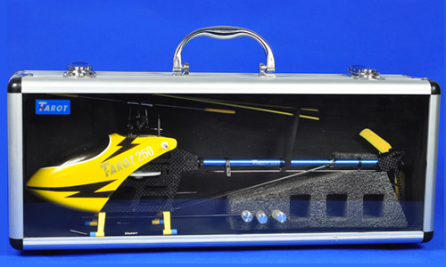 Tarot 250 RC Helicopter Kit with Aluminium Case