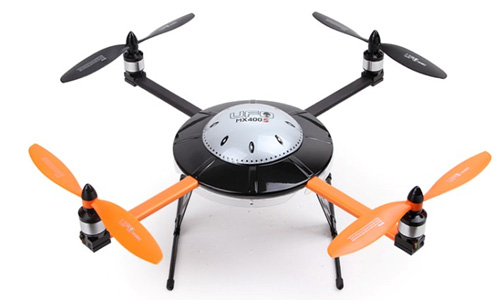 Walkera MX400S UFO Quadcopter ARF W/AL Case