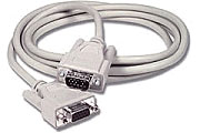 25' VGA Monitor Cable - HD15 Male to Female - Click to enlarge