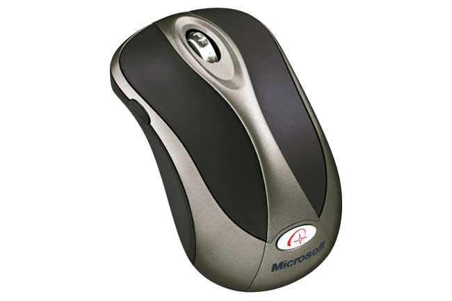 C-Group Microsoft Wireless Notebook Optical Mouse 4000, P/N: B2P-00006 at Sears.com