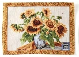 Placemat - Tuscany Design - Style 1 Sunflowers