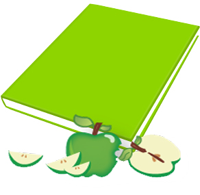 Book Sox - Scented Jumbo Book Cover - Green Apple