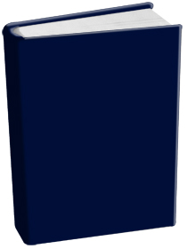 Book Sox - Standard Size Solid Color - Navy Blue