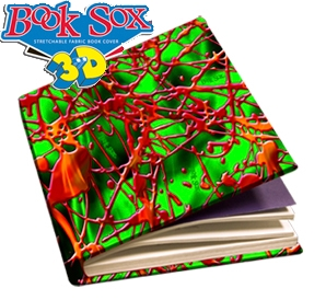 Book Sox - Jumbo Size 3D Print - Wicked