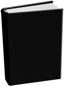 Book Sox - Jumbo Size Solid Color - Jet Black
