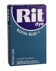 Rit - 1-1/8 oz. Powder Dye - Royal Blue