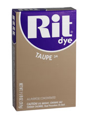 Rit - 1-1/8 oz. Powder Dye - Taupe