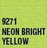 Coats & Clark - General Purpose Dual Duty XP Thread - Neon Bright Yellow
