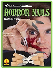 Rubies - Rubber Horror Blade Nails