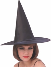 Rubies - Satin Witch Hat