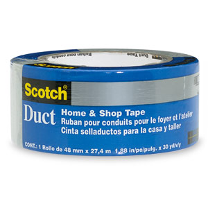 "Scotch  2"" x 60 Yards Home & Shop Strong Duct Tape"