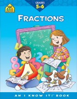 School Zone - Fractions 5-6