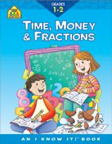 School Zone - Time, Money & Fractions 1-2