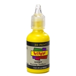 Scribbles - Dimensional Fabric Paint - SHINY SUNNY YELLOW