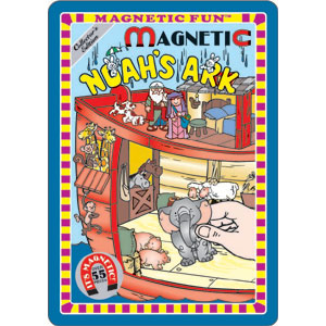 Magnetic Fun Tin Noah's Ark