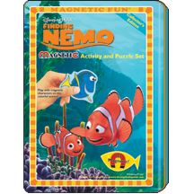 DISNEY'S Finding Nemo Magnetic Activity and Puzzle Set