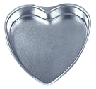 "Fox Run - 8"" HEART PAN"