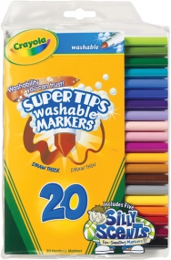Crayola 20 ct. Super Tips Fine Line Washable Markers