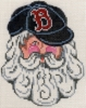 Boston Red Sox Santa