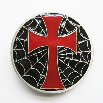 Belt Buckle (Iron Cross Spide Spider Web)