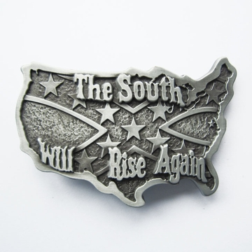 Belt Buckle (Original Confederate Rebel Flag)