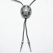 Vintage Western Star Oval Bolo Tie