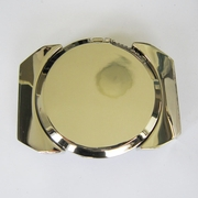 Belt Buckle (Silver Plain Lighter)