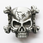 Original Motorcycle Chain Skull Lighter Belt Buckle