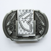 Belt Buckle (Antique Silver F Star Guns Lighter)