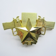 Belt Buckle (Gold Guns Star Lighter)