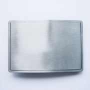 Rectangle Blank Belt Buckle For Engraving Printing Drawing