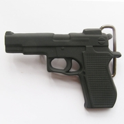 Belt Buckle (Classic Hand Gun Black)