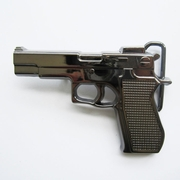 Belt Buckle (Hand Gun Grey)