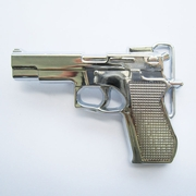 Belt Buckle (Hand Gun Bright)