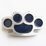 Original Knuckle Duster Blue Belt Buckle