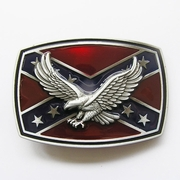 New Vintage 3D Western Eagle Cross Star Enamel Belt Buckle Gurtelschnalle Boucle de ceinture
