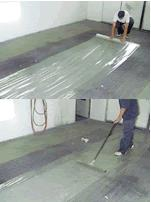 """ROLL SELF ADHESIVE SPRAY BOOTH FLOOR COVER FILM - 48"""" X 200' <BR> <FONT SIZE=""""1""""><i>[RB421]</i></FONT SIZE=""""1"""">"""