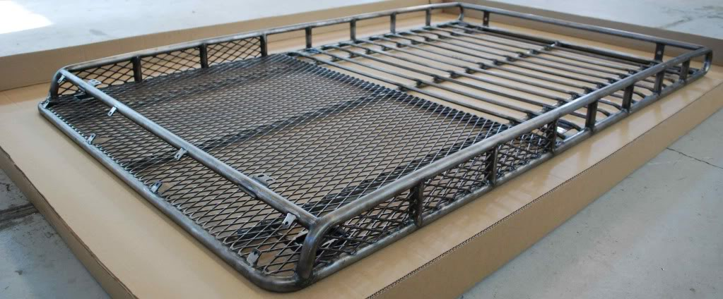 Fj Cruiser Baja Roof Rack Full Mesh 07 2014