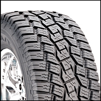 FJ Cruiser Factory Size Tire Toyo AT's