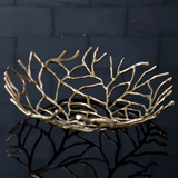 SURevolution Large Decorative Twig Bowl