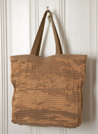 SURevolution Bolivia Plantain and Copper Tote