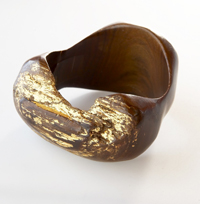 SURevolution West African Inspired Wood Bangle