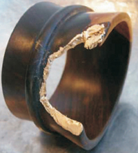 SURevolution Mali Wood Bangle