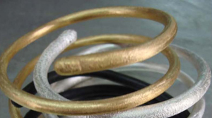 SURevolution Hand-Dipped Driftwood Bangles
