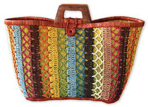 Mad Imports Ile St. Marie Woven Tote