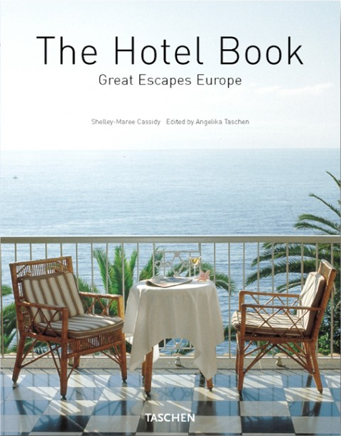 TASCHEN Books: The Hotel Book. Great Escapes Europe